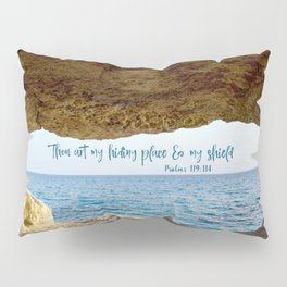 Psalms Hiding Place Bible Verse Pillow Sham