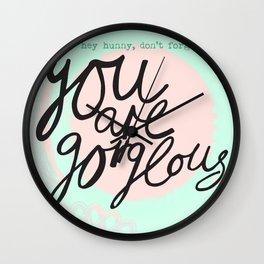 Hey hunny Wall Clock