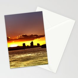 Sunset City Surfers Paradise Stationery Cards