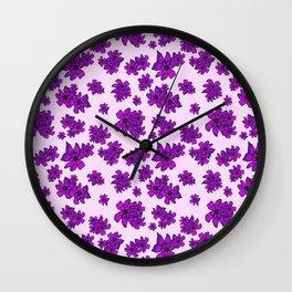 Always Together - Ultra Violet Wall Clock
