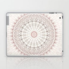 Cream Rose Mandala Laptop & iPad Skin