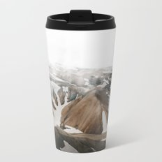 Iceland Snow and Mountains Metal Travel Mug