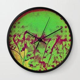 Neon Animal Wall Clock