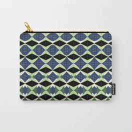Geometric Digital Doodles Carry-All Pouch