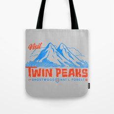 Visit Twin Peaks (orange) Tote Bag