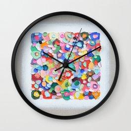 Polka Daub Barnacles Wall Clock