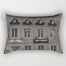 Old Montreal Architecture Rectangular Pillow