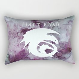 Vintage Dragon  Rectangular Pillow