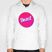 beast Hoodies featuring Beast by Heretical