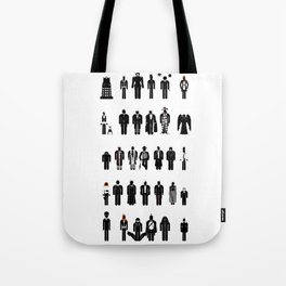 Time and Space Recognition Guide Tote Bag