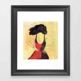 SELINA BEACH SKETCHBOOK Framed Art Print