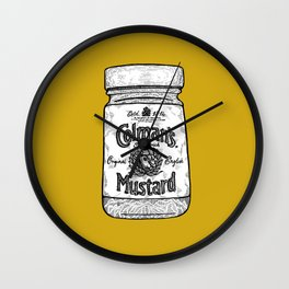 The King of Condiments Wall Clock