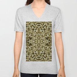 3105 Mosaic pattern #3 Unisex V-Neck