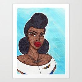 Queen of the Air Art Print