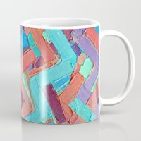 alisa burke Mugs featuring Summer Paths No. 1 Original by Ann Marie Coolick