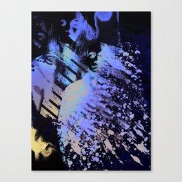 Splatter-Portrait Canvas Print