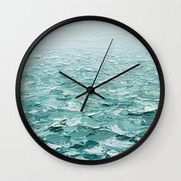 Glistening Expanse Wall Clock