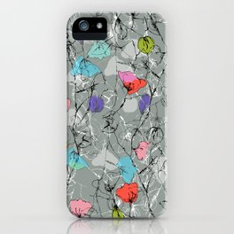 Crawling leaves iPhone Case