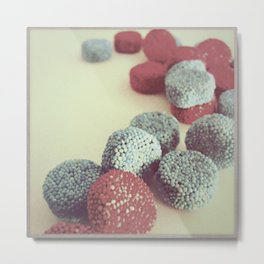 RETRO STYE CANDY PHOTOGRAPH II Metal Print
