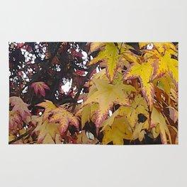 California Leaves In Fall Rug