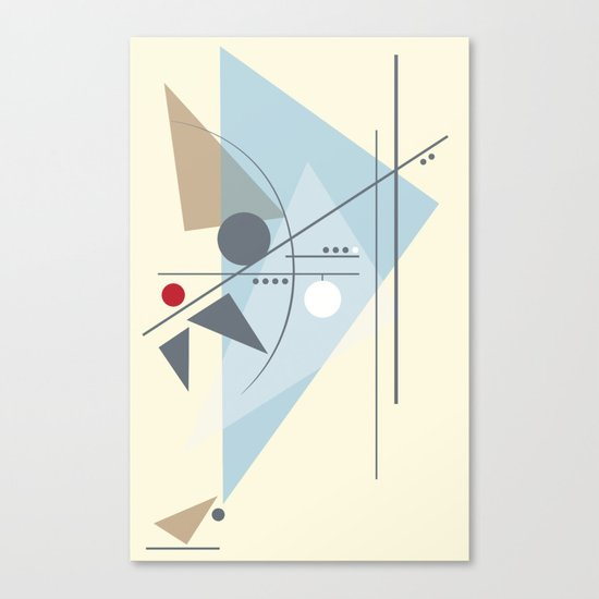 Everything Starts with a Dot Canvas Print