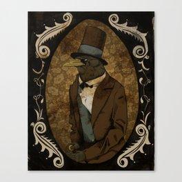 Crobraham Lincoln Canvas Print