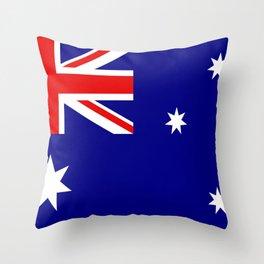 Australian Flag Throw Pillow