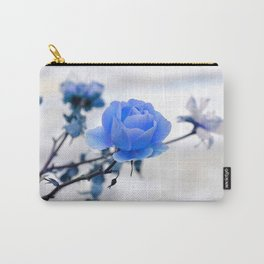Blue Rose Simplicity Carry-All Pouch
