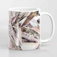 colorful Mugs featuring Arnsdorf SS11 Crystal Pattern by RoAndCo