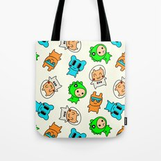 Kawaii Kumas Tote Bag