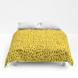 Trees in Yellow Comforters