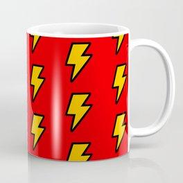 Cartoon Lightning Bolt pattern Coffee Mug