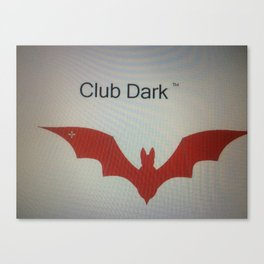 Club Dark Tm hoodie  Canvas Print