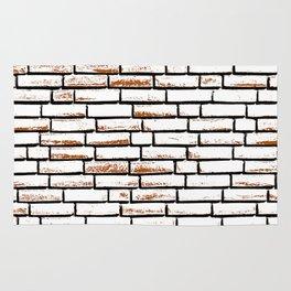 Brick wall 1 Rug