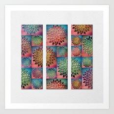 Abstract Petals Decoration Art Print