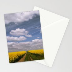 Clouds and Flowers Stationery Cards