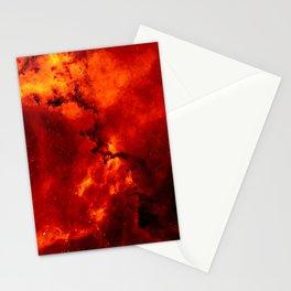Rosette Nebula Space Photography Stationery Cards