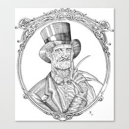 Fancy Freddy Canvas Print