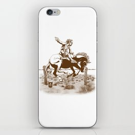 Dude Ranch iPhone Skin