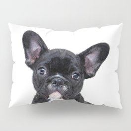 French bulldog portrait Pillow Sham