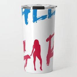 All American Girl Travel Mug