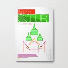 SACRÉ-CŒUR Metal Print