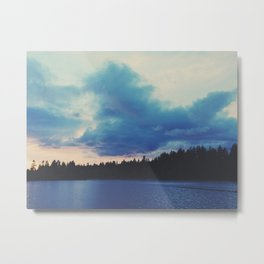Stanley Park Sunset Metal Print