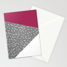 Concrete & Lines Stationery Cards