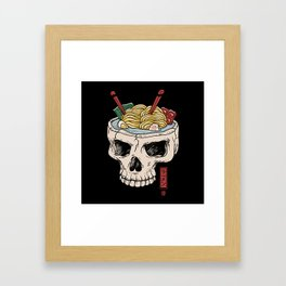 Ramen Brain Framed Art Print