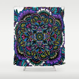 Original Cover Mandala Shower Curtain