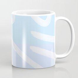 Light Blue abstract Coffee Mug