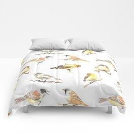 Tit birds pattern Comforters