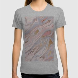 Marble and Gold 005 T-shirt