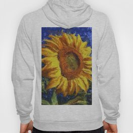 Sunflower In Van Gogh Style Hoody